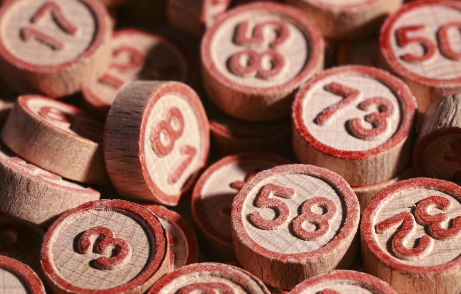 Lucky bingo numbers