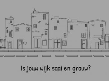 Is je wijk wat saai?