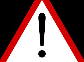 Waarschuwing: eigen risico